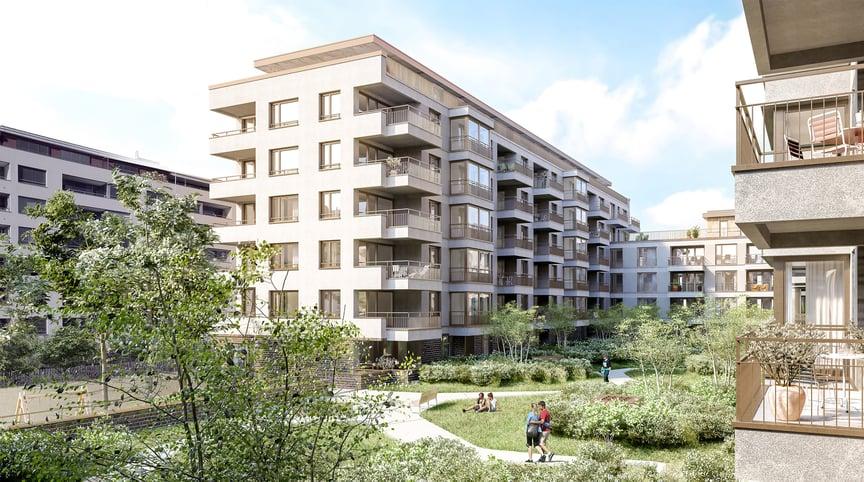 Wohnbauten Tribschenstadt von TGS Architekten - geplant mit Bluebeam Revu